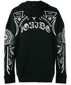 MARCELO BURLON COUNTY OF MILAN | Printed Hooded Sweatshirt Xxs