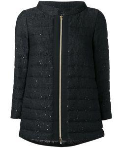 Herno | Zipped Padded Jacket 48 Viscose/Polyester/Acrylic/Feather