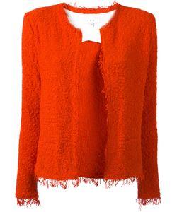 Iro | Fringe Hem Jacket 40 Cotton/Polyamide
