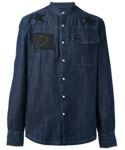 Hydrogen | Denim Appliqué Shirt