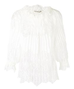 Ermanno Scervino | Lace Pleated Blouse