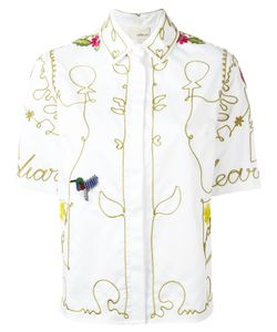 Elaidi | Embroidered Shirt Size 40