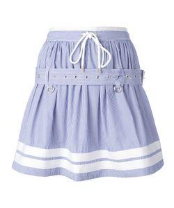 Diesel Black Gold | Striped Belted Skirt Size