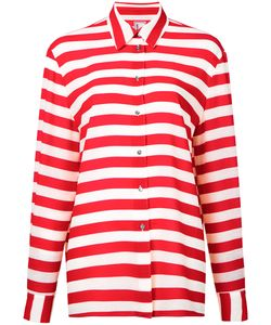 Antonio Marras | Striped Shirt 42 Polyester/Spandex/Elastane