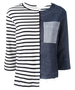 Erika Cavallini | Contrast Sweatshirt Medium Cotton
