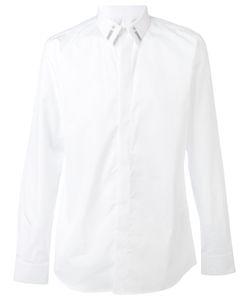 Givenchy | Рубашка С Вышивкой На Воротнике