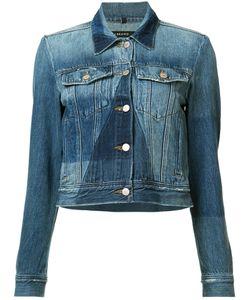 J Brand | Panelled Denim Jacket Large Cotton