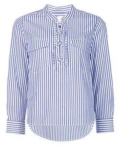 Veronica Beard | Striped Shirt 10 Cotton