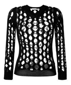 Comme Des Garcons | Comme Des Garçons Vintage 2004 Whale Net Knitted Top Size