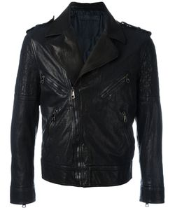 Neil Barrett | Biker Jacket Large Buffalo Leather/Cupro
