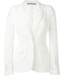 Ermanno Scervino | Lace Blazer 40 Cotton/Polyamide/Viscose