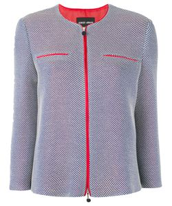 Giorgio Armani | Куртка С Контрастной Окантовкой