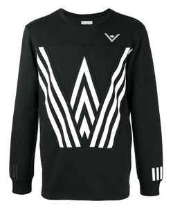 ADIDAS ORIGINALS BY WHITE MOUNTAINEERING | Printed Sweatshirt Small Cotton/Polyester