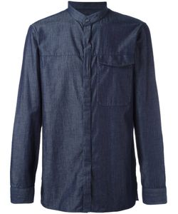Emporio Armani   Plain Shirt Medium Cotton/Silk