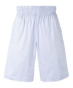 Comme Des Garcons   Comme Des Garçons Shirt Striped Bermuda Shorts