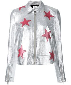 Zoe Karssen   Stars Jacket Size Small