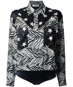 Faith Connexion | Star And Zebra Print Shirt Size 38