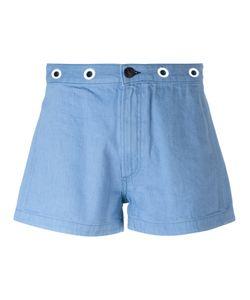 Rag & Bone | Eyelet Detail Shorts Size 26