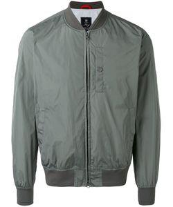 Fay   Zipped Bomber Jacket Small Cotton/Polyamide/Polyester