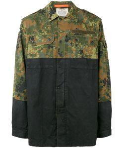 Komakino | Camouflage Panel Jacket S