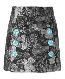 Dolce & Gabbana | Jacquard Skirt 40 Acetate/Polyester/Polyamide/Spandex/Elastane