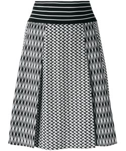Missoni | Knitted A-Line Skirt 38 Cotton/Rayon/Polyester
