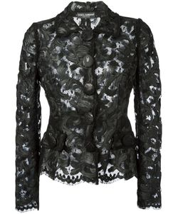Dolce & Gabbana | Lace Fitted Jacket Size 42