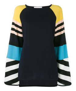 ANTONIA ZANDER | Stripe Panel Top
