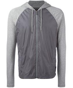 Michael Kors   Contrast-Panel Hooded Sweatshirt