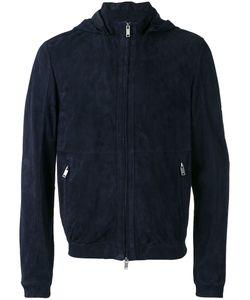 DESA | 1972 Zipped Hooded Jacket 56 Suede
