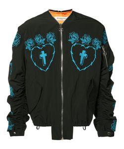 Mr. Completely | Куртка-Бомбер С Вышитыми Розами