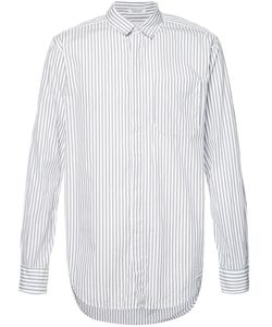 Engineered Garments | Wide Stripe Longsleeve Shirt Size Large