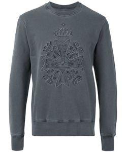 Vivienne Westwood | Man Logo Embroidered Sweatshirt Size Large