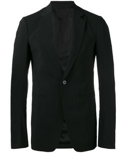 Rick Owens | Classic Blazer 52 Virgin Wool/Spandex/Elastane/Cotton/Cupro