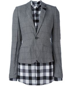 A.F.Vandevorst | Layer Fitted Blazer 40 Cotton/Metal/Polyester