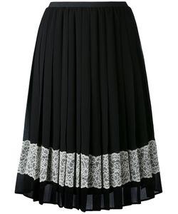 Red Valentino | Embellished Crepe Skirt
