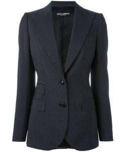 Dolce & Gabbana | Polka Dot Blazer 40 Cupro/Virgin