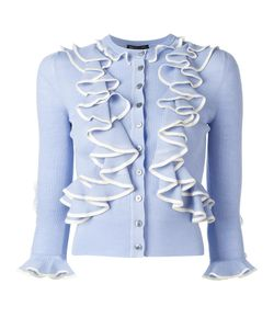 Alexander McQueen | Ruffle Cardigan Medium Wool