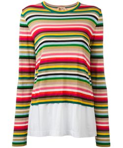 No21 | Striped Jumper 44 Viscose/Polyester/Polyamide/Cotton