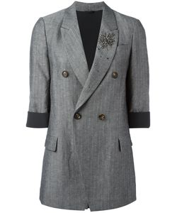 Brunello Cucinelli | Double-Breasted Blazer Size 42