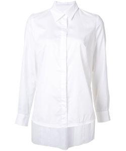 JONATHAN COHEN   Asymmetric Pleat Shirt