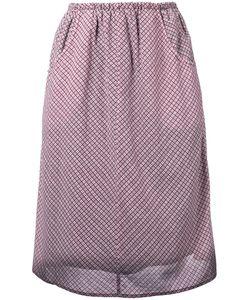 Caramel   Gathered Checked Skirt 8