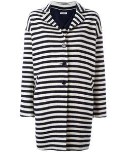 P.A.R.O.S.H. | Lomar Striped Coat Wool