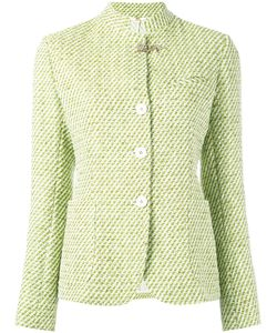 Fay | Tweed Jacket 44 Cotton/Polyamide/Polyester/Cupro