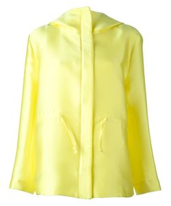 P.A.R.O.S.H. | Concealed Fastening Hooded Jacket Silk/Polyester