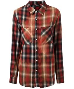 AMIRI | Plaid Pocket Shirt Large Cotton/Rayon