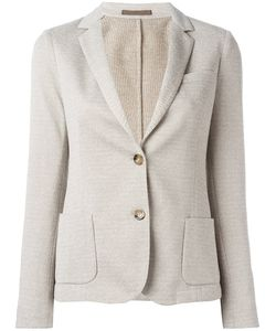 Eleventy | Fitted Blazer Jacket 44 Cotton/Polyamide/Polyester/Viscose