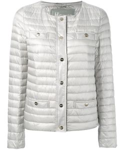 Herno | Collarless Padded Jacket 40 Polyamide/Feather Down