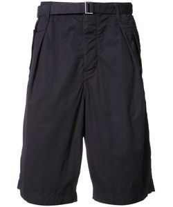 Sacai   Belted Bermuda Shorts Size 2