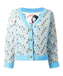 Jenny Fax | Oversized Spot Knit Cardigan